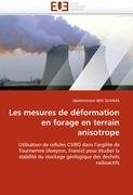 Les Mesures de D Formation En Forage En Terrain Anisotrope 9786131575587