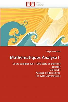 Mathematiques Analyse I 9786131531743