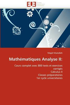 Mathematiques Analyse II 9786131533167