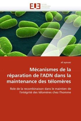 Mecanismes de La Reparation de L'Adn Dans La Maintenance Des Telomeres 9786131550638