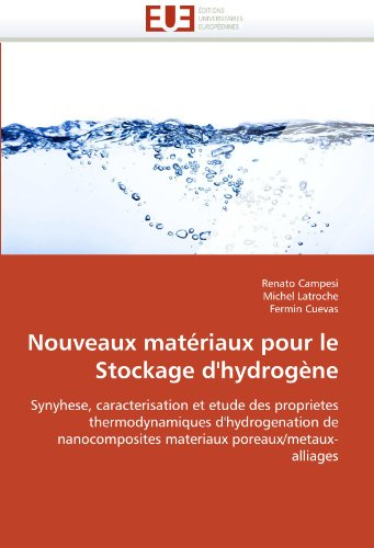 Nouveaux Materiaux Pour Le Stockage D'Hydrogene 9786131511493