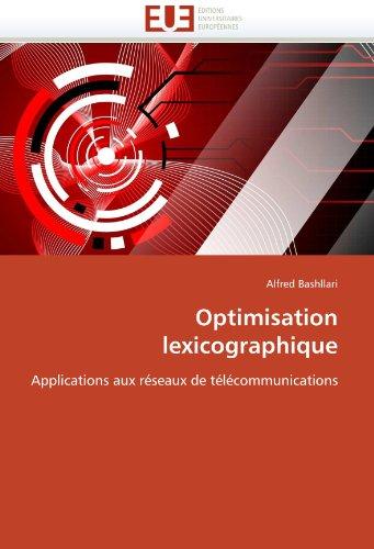 Optimisation Lexicographique 9786131523267