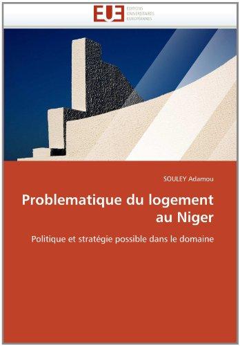 Problematique Du Logement Au Niger 9786131565533
