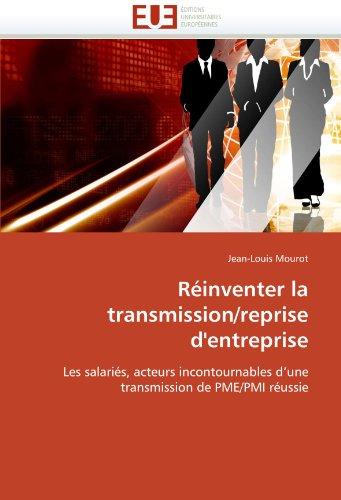 R Inventer La Transmission/Reprise D'Entreprise 9786131577390