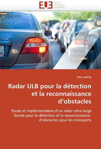 Radar Ulb Pour La Detection Et La Reconnaissance D'Obstacles 9786131520204