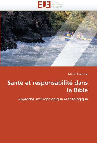 Sant Et Responsabilit Dans La Bible 9786131517419