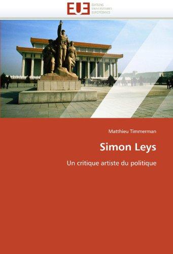 Simon Leys 9786131531781