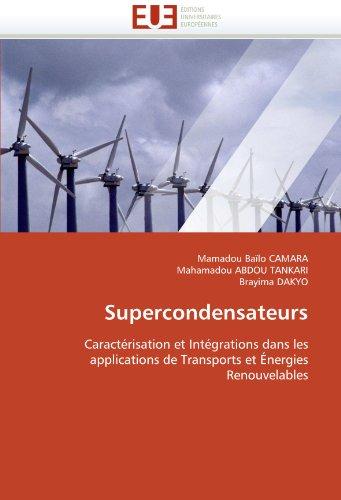 Supercondensateurs 9786131517860