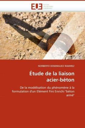 Tude de La Liaison Acier-Bton 9786131515415