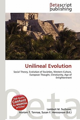 franz boas and unilineal evolution Why i love franz boas (and you should, too) by was to create a theory of unilineal social evolution  of human social evolution was franz boas.