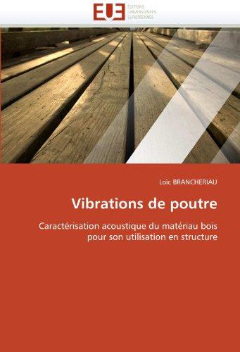 Vibrations de Poutre 9786131564291
