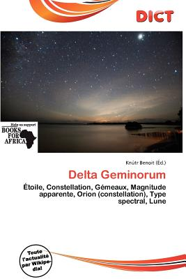 Delta Geminorum 9786200984357
