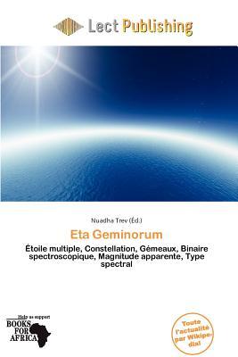 Eta Geminorum 9786200984241
