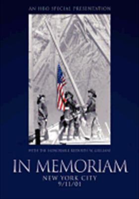 In Memoriam: NYC 9/11/01