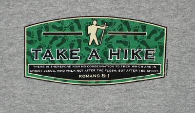 Take a Hike T-Shirt Heather Medium
