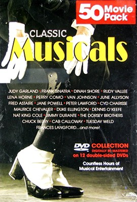 Musical Classics 50 Movie Megapack