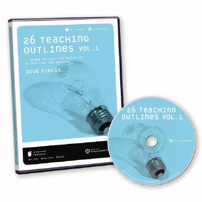 26 Teaching Outlines: Volume 1: 26 Sermon Outlines with PowerPoint to Help Plan Your Messages