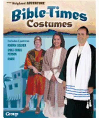 Bible-Times Costumes: Includes 3 Patterns: Roman Soldier Costume, Villager Costume, Rabbi Costume