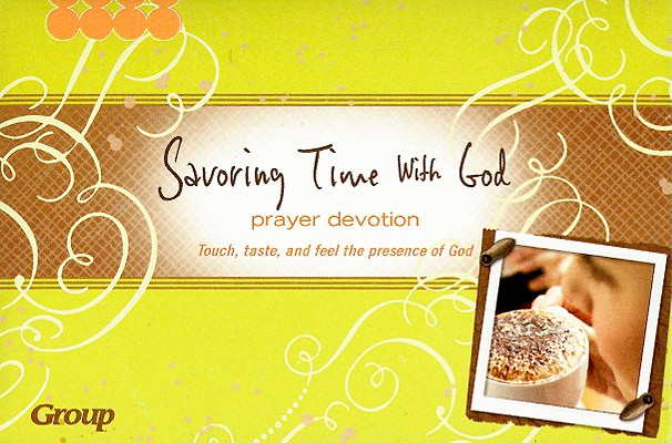 Savoring Time with God Prayer Devotion Box [With Fleece, Pin, Rock, Cinnamon Stick, Cookie Cutter]