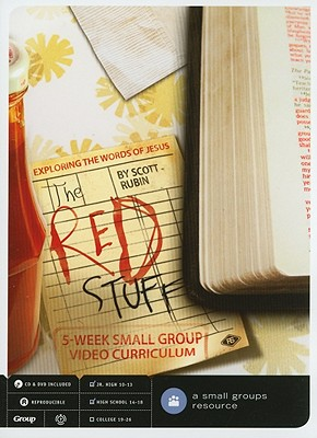 The Red Stuff: Exploring the Words of Jesus [With CD (Audio)]