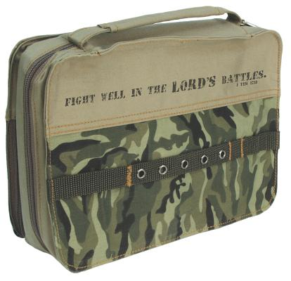 Fabric Large Camouflage Bible Cover