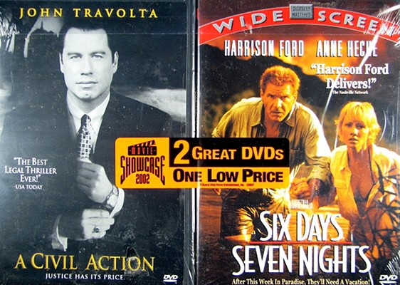 A Civil Action/Six Days, Seven Nights