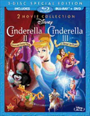 Cinderella 2-Dreams Come True/Cinderella 3-Twist in Time 0786936825800