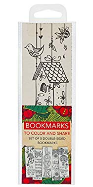 Creative Expressions of Faith Collection #3: Bookmarks to Color and Share - 5 Pack