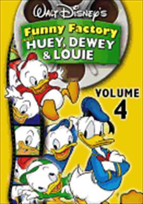 Funny Factory: Volume 4 with Huey, Dewey & Louie