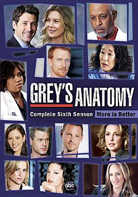Grey's Anatomy: Complete Sixth Season 0786936802900