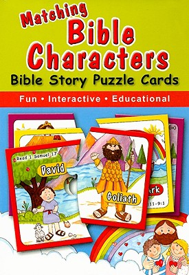 Matching Bible Characters: Bible Story Puzzle Cards