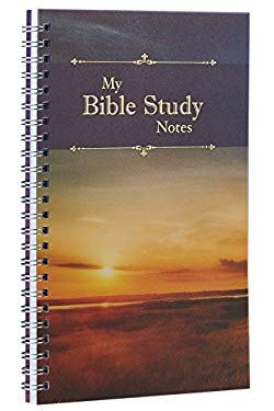 My Bible Study Notes: Printed PVC Cover Wirebound 52 Week Notebook