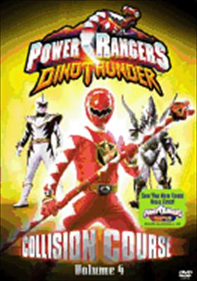 Power Rangers Dino Thunder Vol. 4: Collision Course