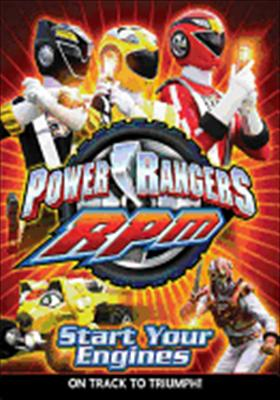 Power Rangers RPM: Start Your Engines