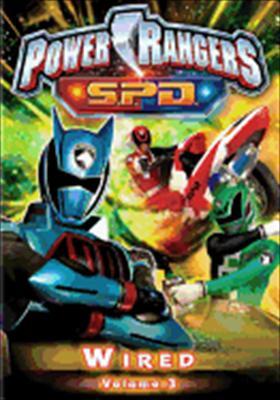 Power Rangers SPD Volume 3: Wired