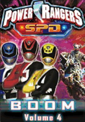 Power Rangers SPD Volume 4: Boom