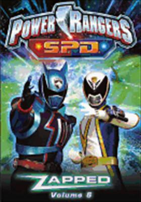 Power Rangers SPD Volume 5: Zapped