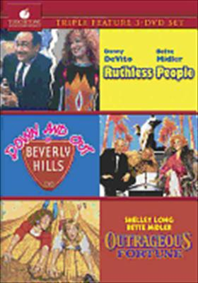 Ruthless People / Down & Out in Beverly Hills / Outrageous Fortune (DVD: 3 Movie