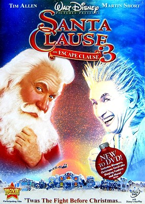 The Santa Clause 3: The Escape Clause 0786936727012