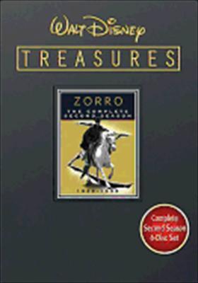 Walt Disney Treasures: Zorro - The Complete Second Season