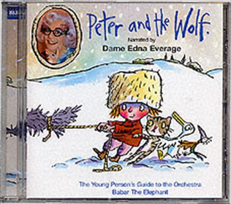 PETER AND THE WOLF NARRATED DAME EDNA CD