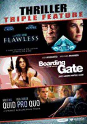 Flawless / Quid Pro Quo / Boarding Gate