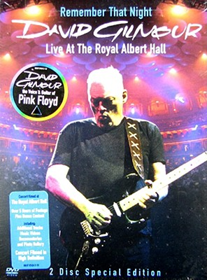 David Gilmour: Remember That Night - Royal Albert Hall 0886970742498