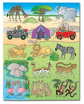 Kingdom of the Son Safari Assortment Stickers
