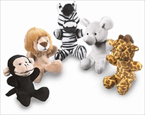 Kingdom of the Son Safari Finger Puppets
