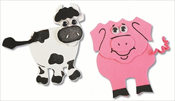 Sonharvest Craft Kit Animal Magnets