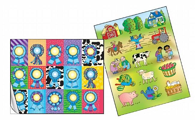 Sonharvest Farm Fun Sticker