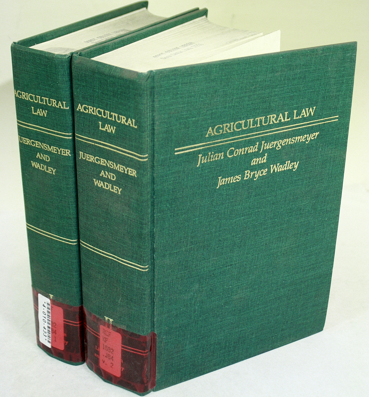 Agricultural Law, Volumes I-II
