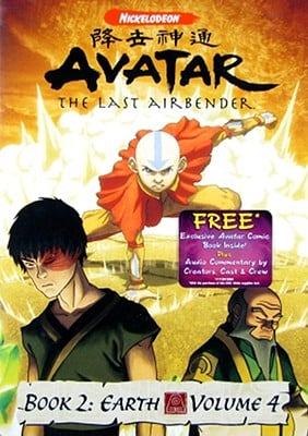 Avatar, the Last Airbender: Book 2 Earth, Volume 4