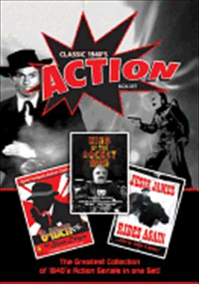 Classic 1940s Action Serial Box Set